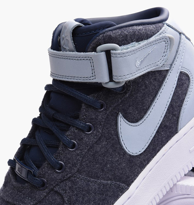 Nike Air Force 1 Mid Wool And Leather