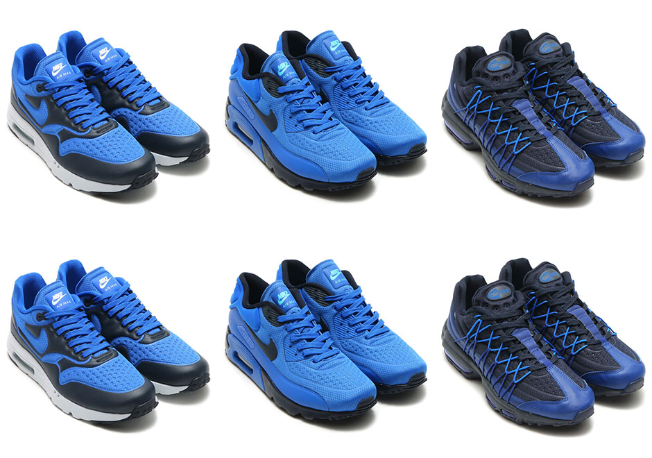 pretty nice 5f147 ce4f0 Nike Air Max Ultra Game Royal Pack   SneakerNews.com