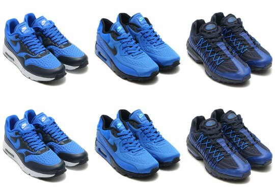 "Nike Air Max Ultra ""Game Royal"" Pack"