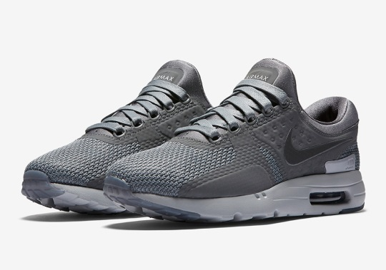 The Nike Air Max Zero Set To Release In Dark Grey