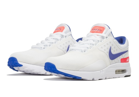 "The Nike Air Max Zero Goes ""Ultramarine"""