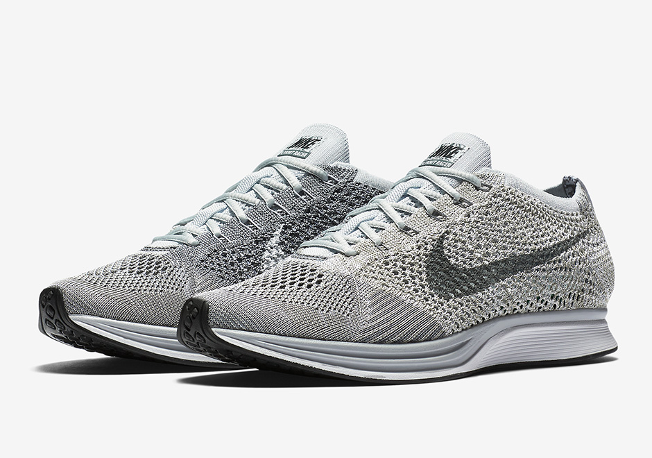 357dd8154ded5 Nike Flyknit Racer Pure Platinum 862713-002