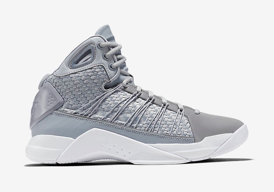 2b44559bf632 Nike Hyperdunk Lux. Color  Cool Grey White Style Code  818137-002