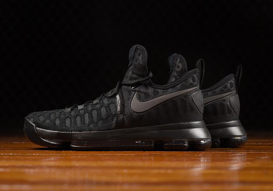 282c891e8e0e Nike KD 9 Triple Black Release Date 843392-001