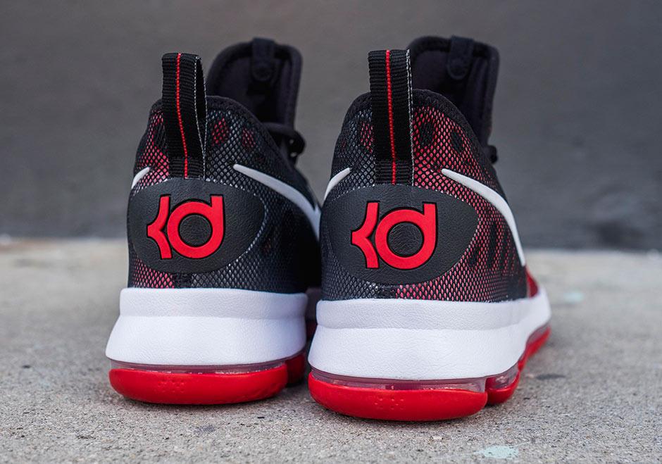 ed68e5399bc9 Nike KD 9 University Red Black 843392-610