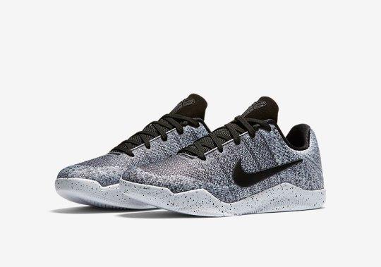 "Nike Kobe 11 Elite Goes ""Oreo"" In Kids Sizes"