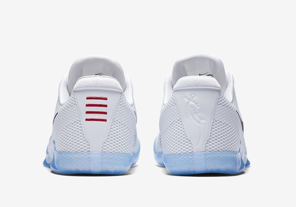 dfaab749cc9dad Nike Kobe 11 EM White Cool Grey Black