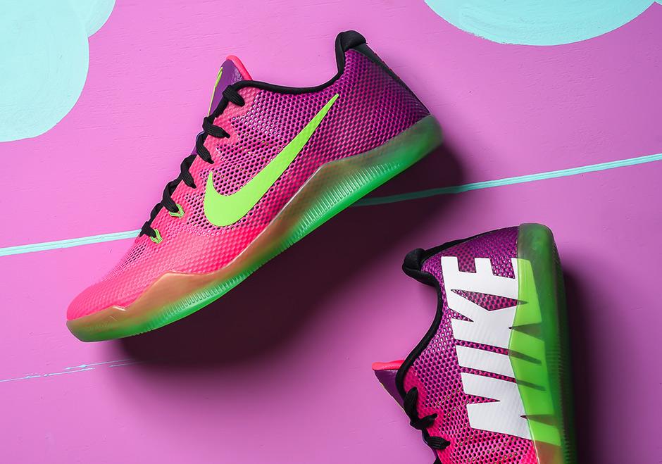 Nike Kobe 11 Mambacurial Detailed