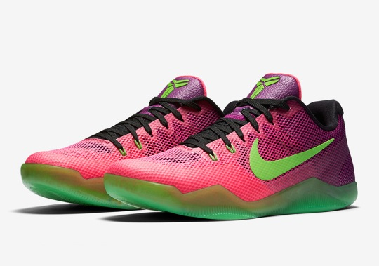 "The Nike Kobe 11 ""Mambacurial"" Releases In Two Weeks"