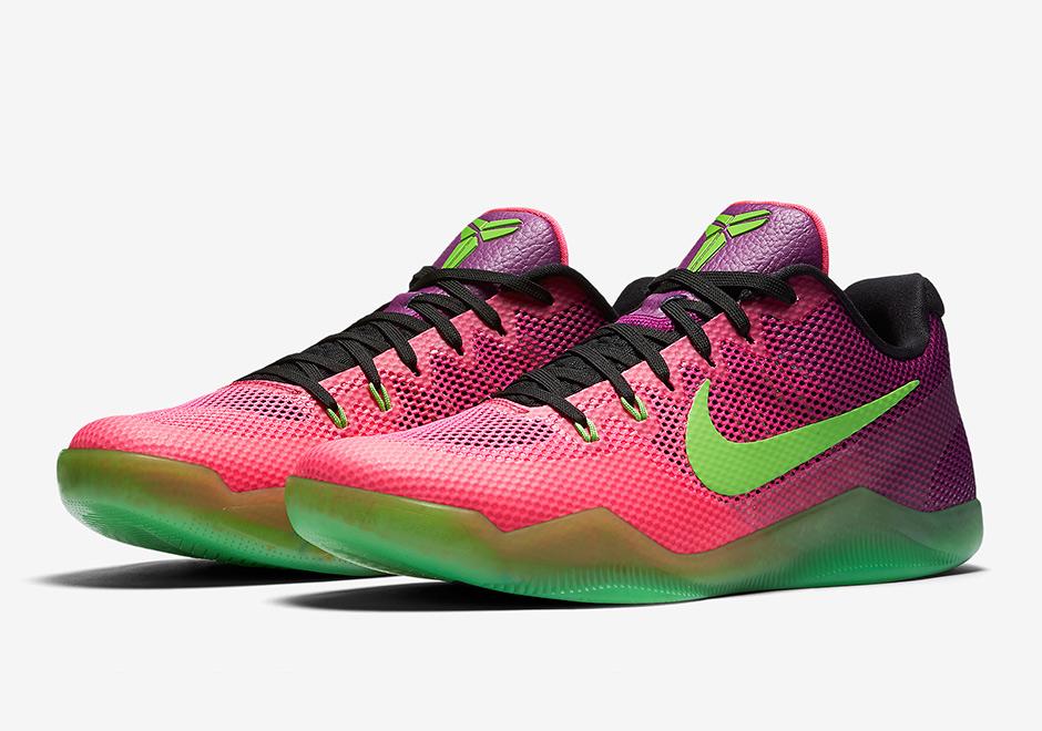 cc2580e609f3 Nike Kobe 11 Mambacurial Release Date 836183-635