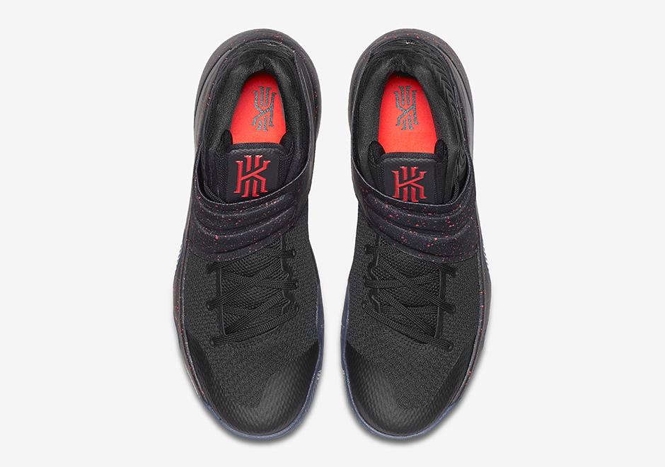 "7678c055c12 ... Nike Kyrie 2 ""Bright Crimson"". Color BlackMetallic SilverBright Crimson  Style Code 819583- ..."