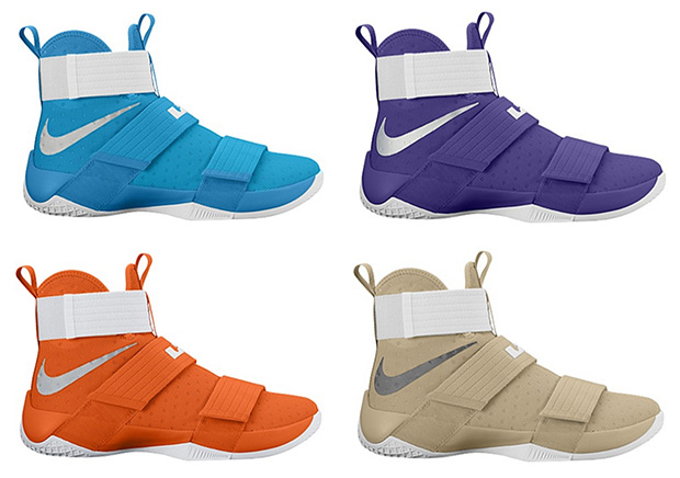 96d27631383e Nike LeBron Soldier 10 Team Colorways Available