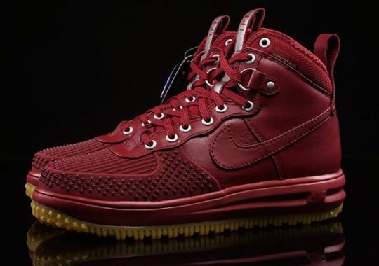 "Nike Lunar Force 1 High Duckboot ""Team Red"""