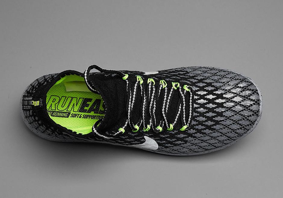 Nike Flyknit Lunarepic Escudo Negro OvodG