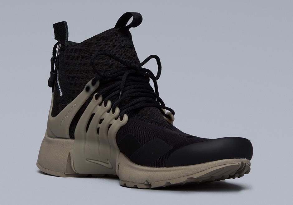 hot sale online ac434 ce162 ACRONYM Nike Presto Mid - Release Info  SneakerNews.com