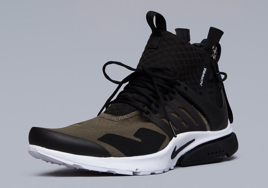 new product 4ba02 03349 ACRONYM Nike Presto Mid - Release Info | SneakerNews.com