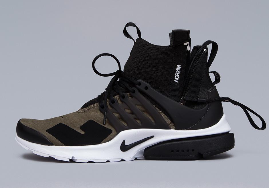 bd5243a6af03 ACRONYM Nike Presto Mid - Release Info