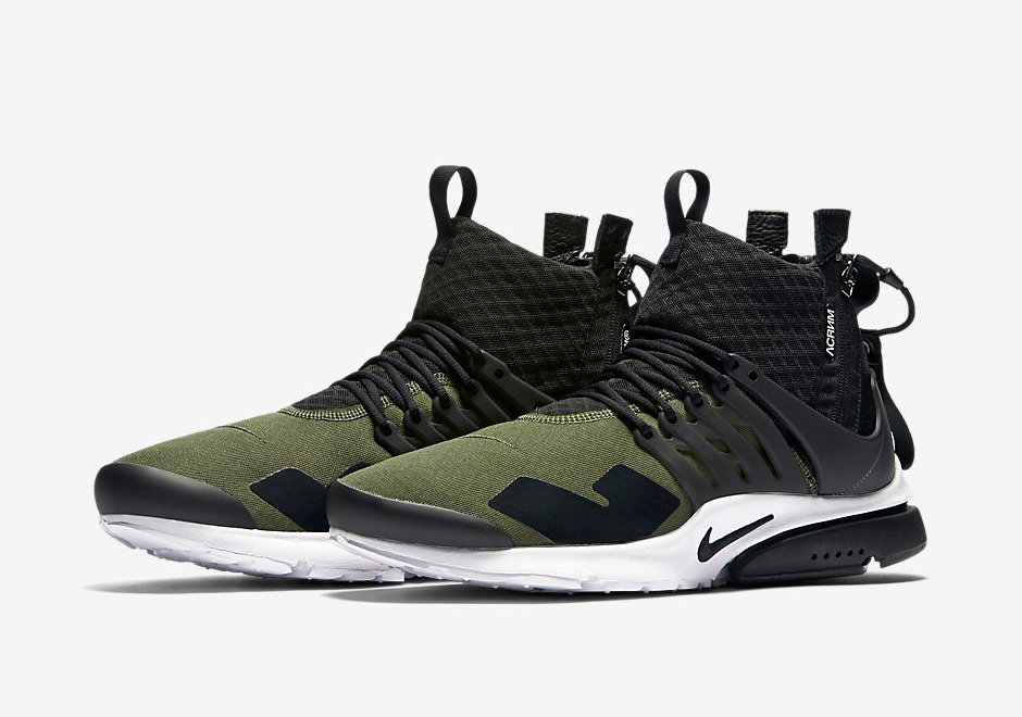 The ACRONYM x Nike Presto Mid Releases This Week