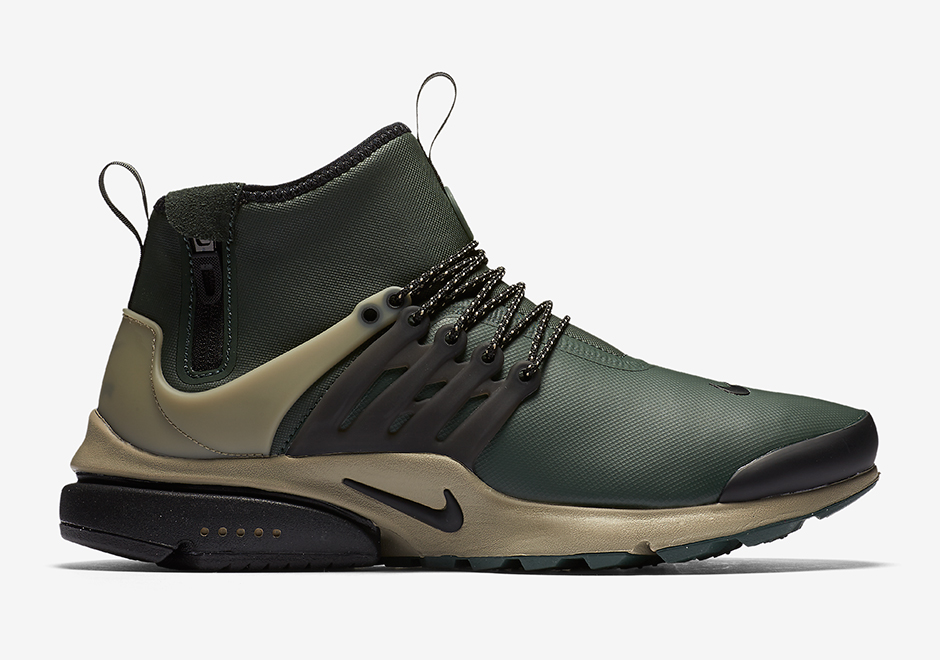 los angeles 0bf1c 441ff Nike Presto Mid Utility November 2016 Releases   SneakerNews.com