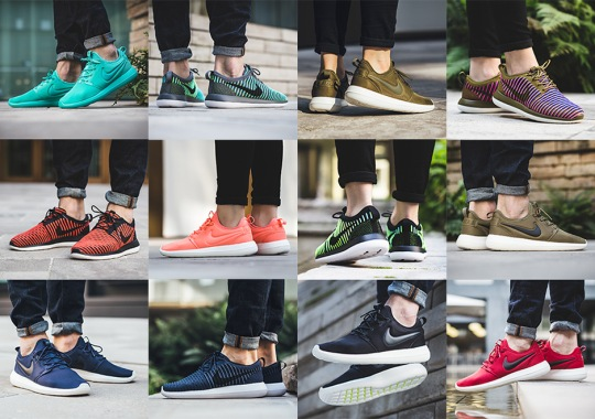 On-Foot Gallery Of 12 Different Nike Roshe Two Releases