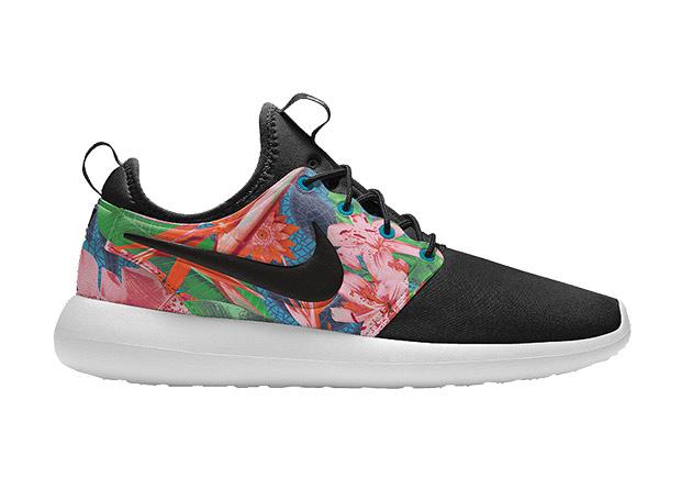 Nike Id Roshe 1 Floreale 2wLAtN41