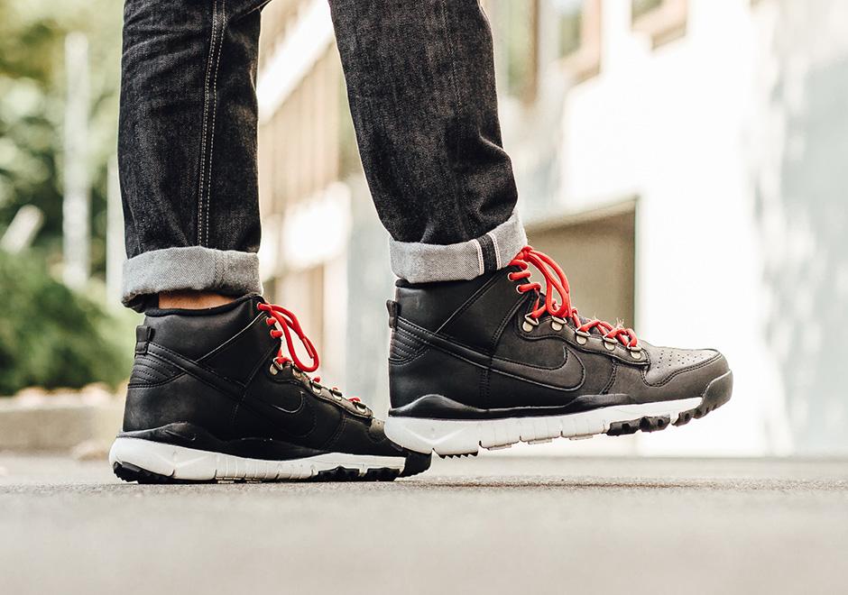 Nike SB Drops Dunk High Boots Again For Fall/Winter 2016