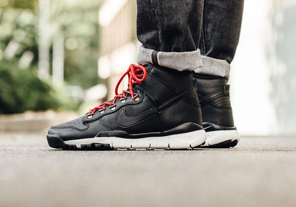 Nike SB Dunk High Boot Mens Black