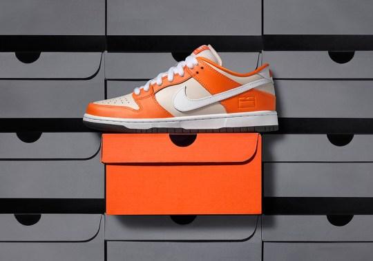 """Nike SB Dunk Low """"Orange Box"""" Releases Next Week"""