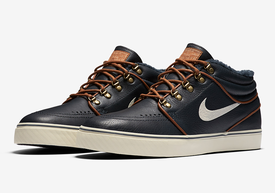 The Nike SB Janoski Mid Gets Fall-Ready With Boot-Like Design