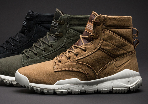 best website e1ab0 96a6f nike sfb field 6 canvas on feet
