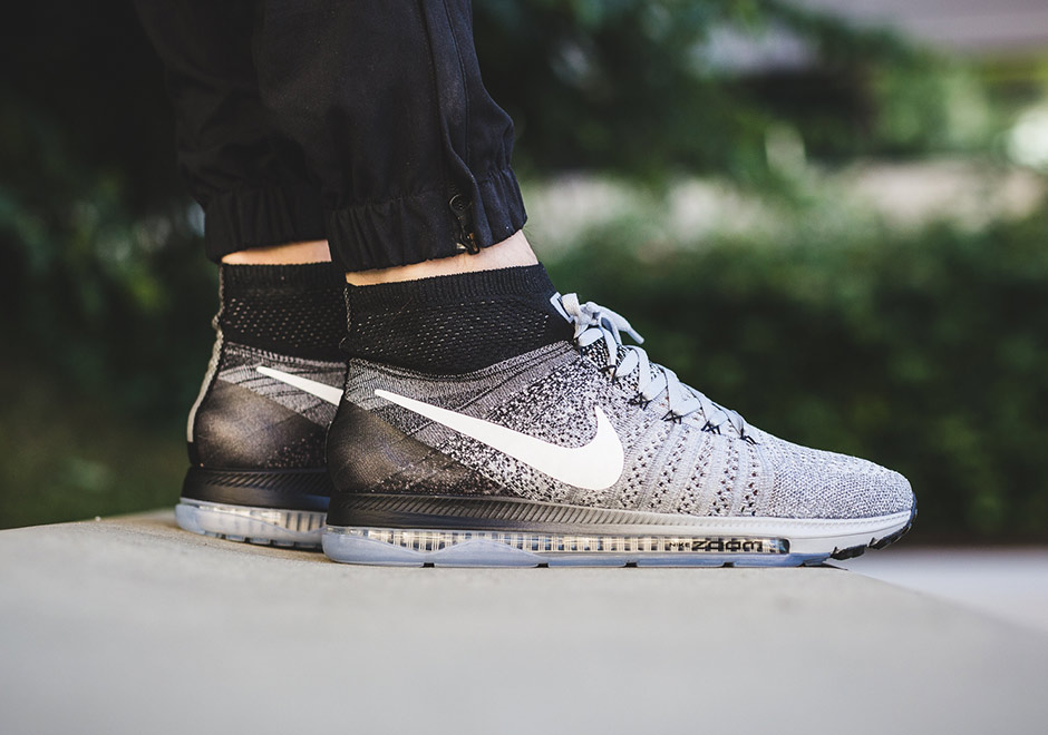 2f7c0b31e5d ... ebay nike zoom all out flyknit. color wolf greywhite black pure  platinum style code aa1a4
