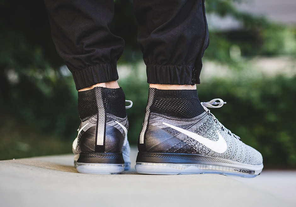 14c57fc3664e2 Nike Zoom All Out Flyknit. Color  Wolf Grey White-Black-Pure Platinum Style  Code  844134-003. Price   170. Advertisement