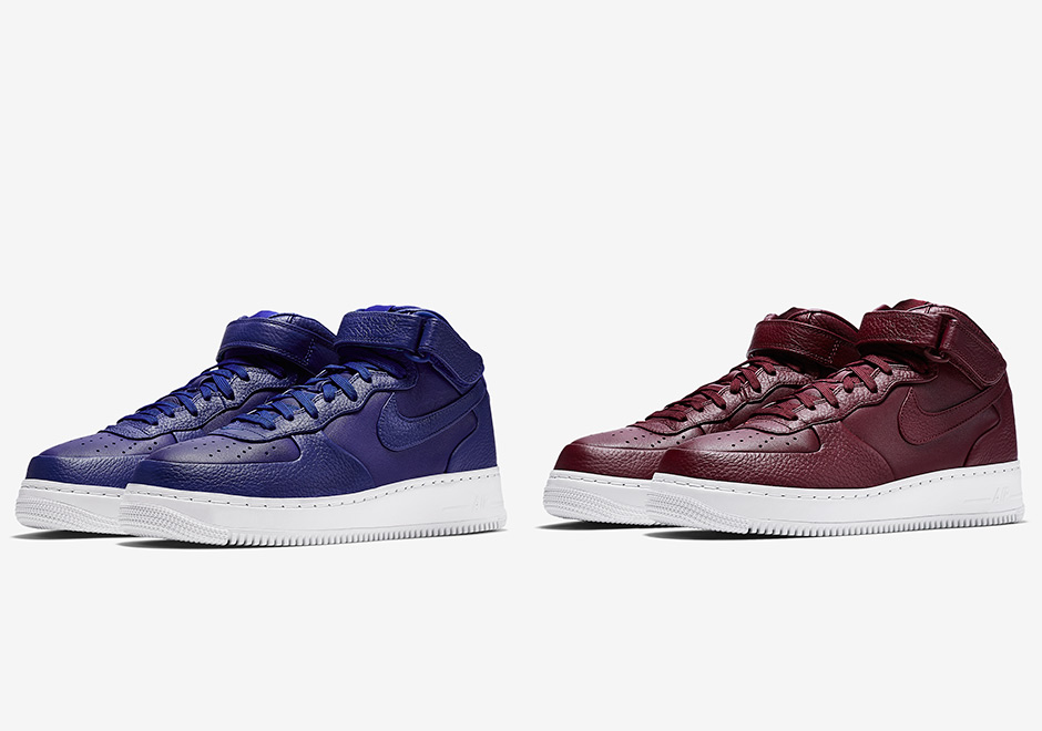 Expect Two New Colorways Of The NikeLab Air Force 1 Mid