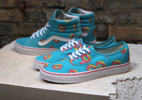 """More Details On The Odd Future x Vans """"Donut"""" Release"""