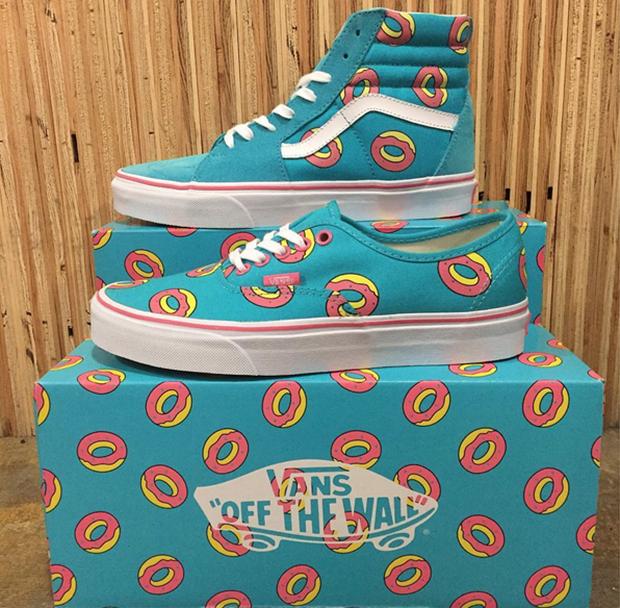 ba749548b803 Odd Future Vans Donuts Sk8-Hi Authentic