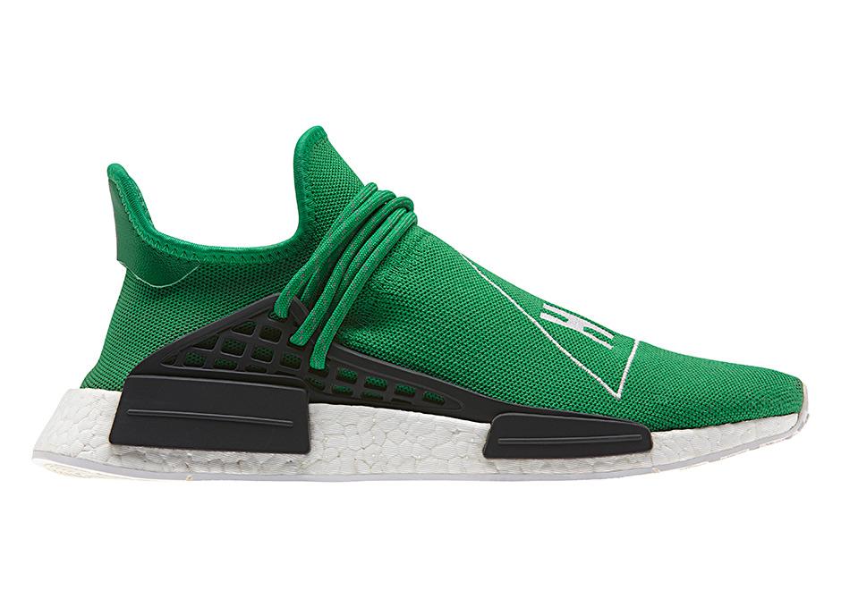 chaussures de sport aac6b b8157 Pharrell adidas Hu Collection Release Info | SneakerNews.com