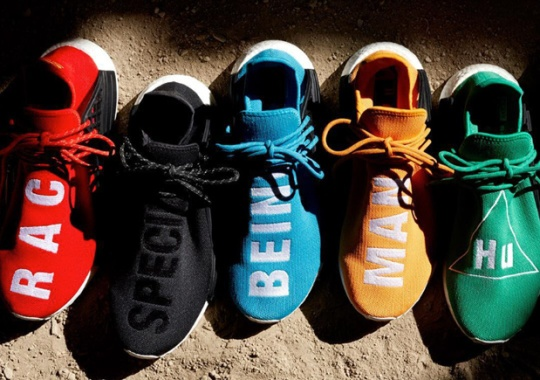 "adidas Originals Announces The ""Hu"" NMD Collection By Pharrell"
