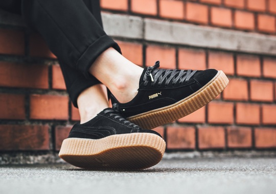 timeless design ecd0f a6a16 Puma Rihanna Creeper - Where to Buy Online | SneakerNews.com