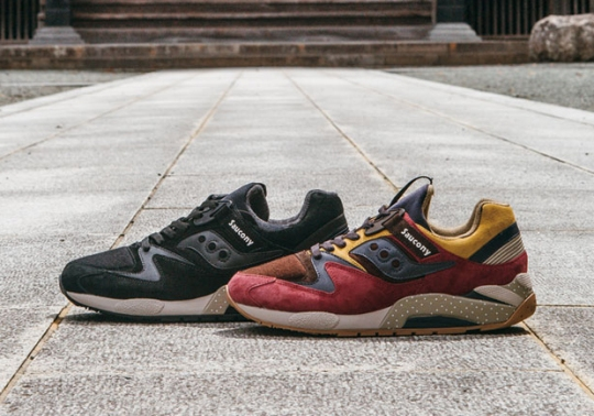 "Saucony Grid 9000 ""Nippon"" Pack"