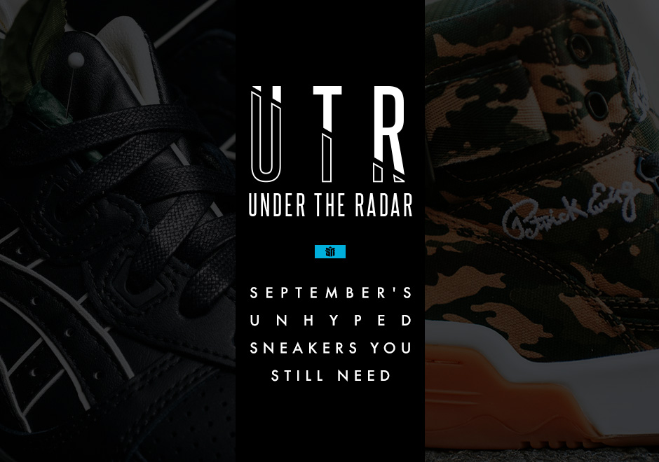 Under The Radar: September's Unhyped Sneakers You Still Need