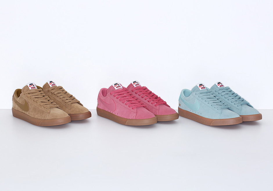 9e9475e0701f Supreme Nike Blazer Low GT Release Date