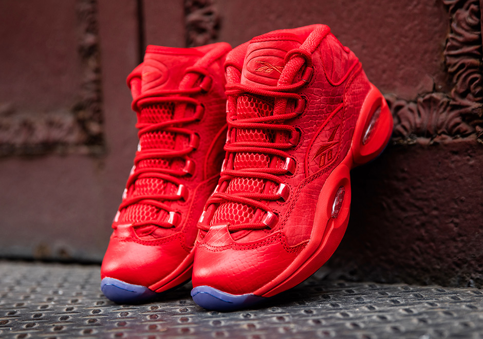 Teyana Taylor s Bold Reebok Question Collaboration Releases This Friday -  SneakerNews.com 1b4f014c0
