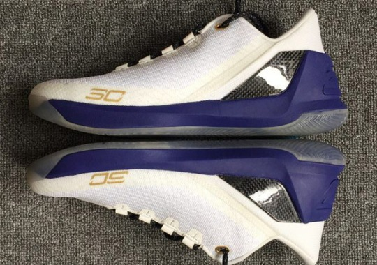 First Look At The Under Armour Curry 3 Low