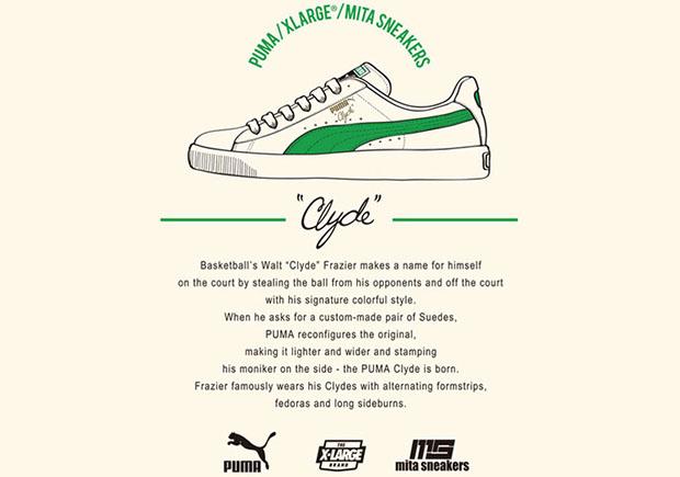 85%OFF XLARGE mita Puma Clyde Collab Cream Green - molndalsrev.se bdf517197