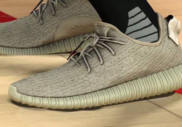 "f063df4aab01 You can now own a pair of Yeezy Boosts – at least on a virtual level. The  upcoming NBA 2K17 will indeed feature the Yeezy Boost 350 model in at least  the "" ..."