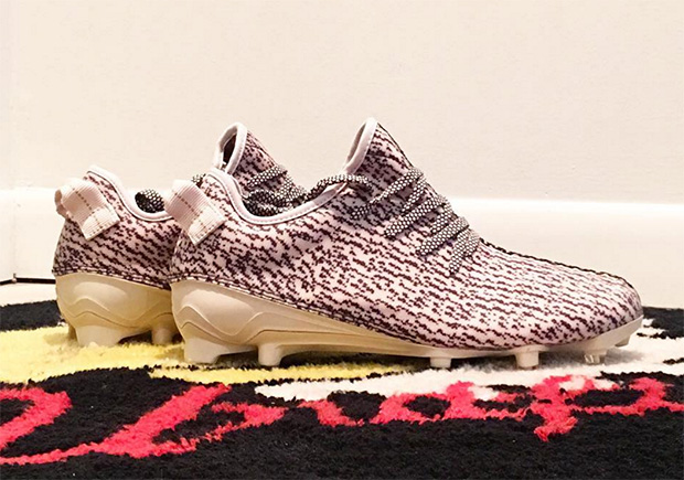 41deb8c70 The adidas Yeezy 350 Cleat Releases Tomorrow