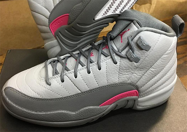 "It would've been nice to the see the white/grey Air Jordan 12 ""Flint"" hit  stores, but looks this upcoming November release for girls is the closest  we'll ..."