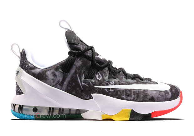 """Nike LeBron 13 Low """"Akron Graffiti"""" 5b913b9707"""