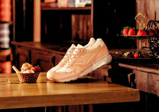 "Feature and Diadora Serve Strawberry Ice Cream For Part 2 Of Their ""Gelato"" Series"