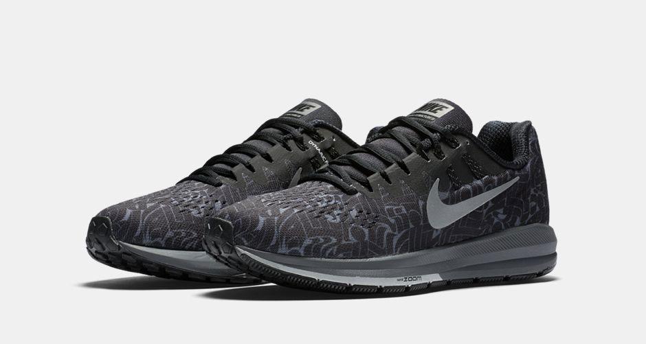 9e9bd5996e8a Nike Zoom Structure 20 Rostarr. Color  Black Reflect Silver Dark Grey White Wolf  Grey